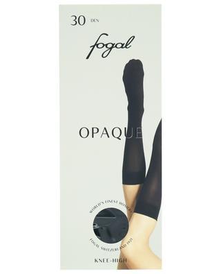 Semi opaque knee-high socks FOGAL