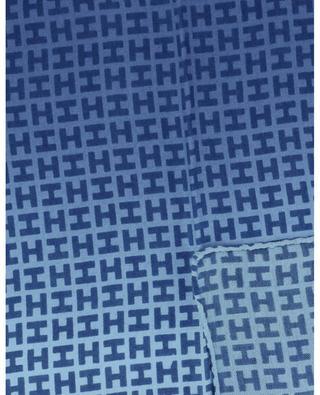 Einstecktuch aus Kaschmir und Seide mit Monogramm Bademini-CS HEMISPHERE