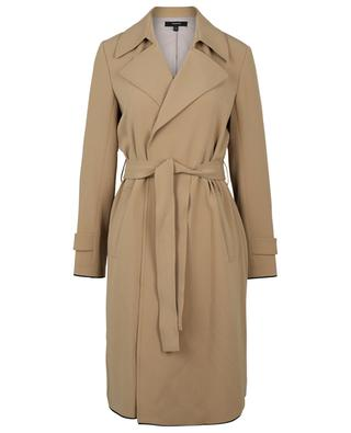 Trench ample en crêpe Oaklane THEORY