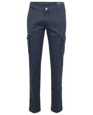 Ike Comfort gabardine cargo trousers JACOB COHEN