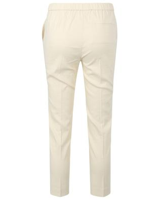 Pantalon slim raccourci en lin mélangé Treeca Pull THEORY