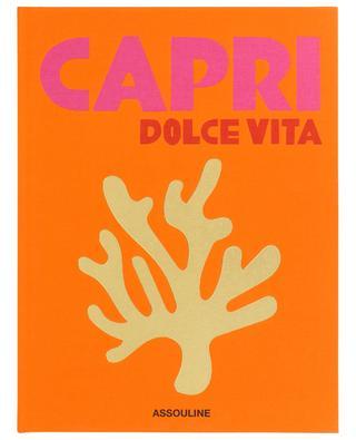 Capri Dolce Vita coffee table book ASSOULINE
