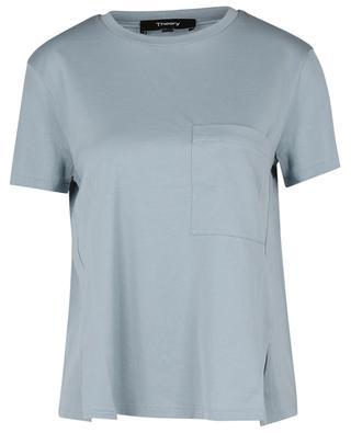T-shirt trapèze à poche poitrine A Line Tee THEORY