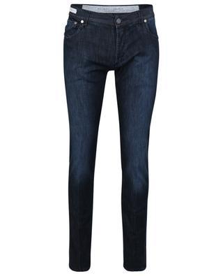 Slim-Fit-Jeans aus Baumwolle, Lyocell und Seide Luxury Precious Fibers Tokyo RICHARD J. BROWN