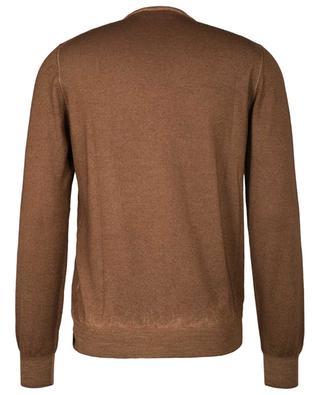 Dünner Pullover aus Schurwolle mit Rundkragen GRAN SASSO
