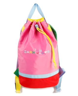 Sac à dos fille en nylon multicolore imprimé logo THE MARC JACOBS