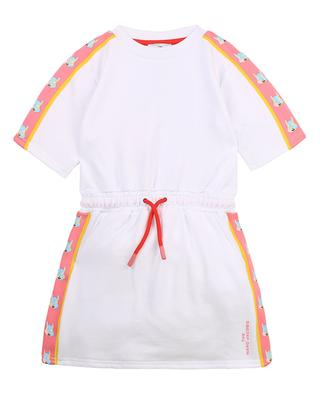Short sleeve dress for girls in mouse print fleece THE MARC JACOBS