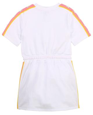 Kurzärmeliges Kleid für Mädchen aus Fleece mit Maus-Print THE MARC JACOBS