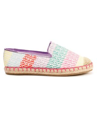 Girls' espadrilles with logo print THE MARC JACOBS