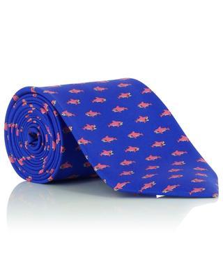 Shark printed silk tie FEFE NAPOLI