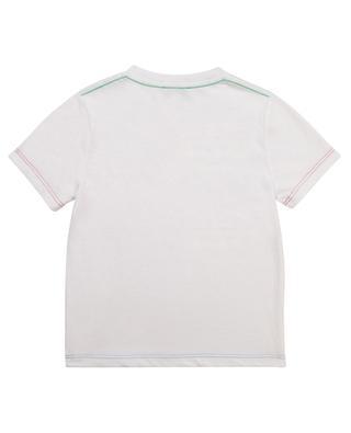 T-shirt garçon en coton bio imprimé Logo THE MARC JACOBS