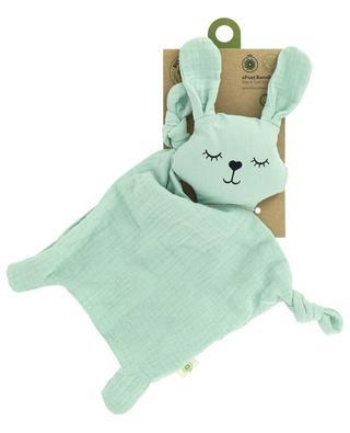Hasen-Schmusetuch aus organischer Baumwolle APUNT