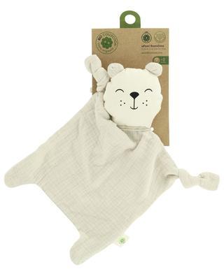 Bären-Schmusetuch aus organischer Baumwolle APUNT