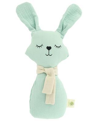 Organic cotton bunny rattle APUNT