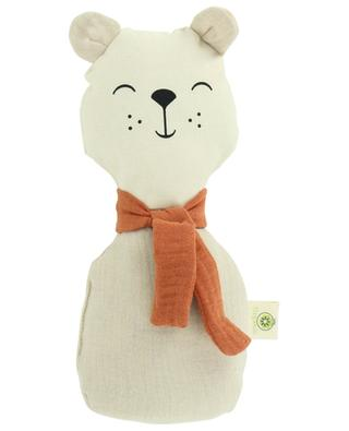 Organic cotton bear rattle APUNT