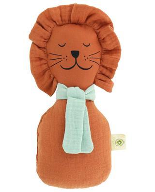 Löwen-Rassel aus organischer Baumwolle APUNT