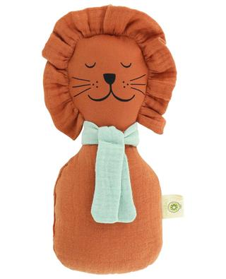Organic cotton lion rattle APUNT