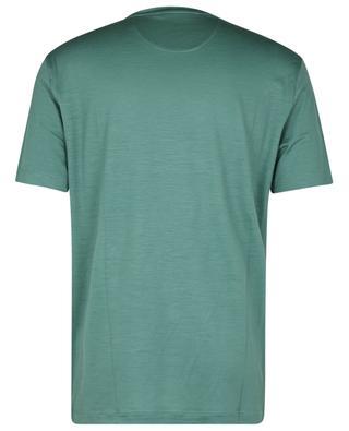 Active Wool round neck T-shirt in jersey wool MAURIZIO BALDASSARI