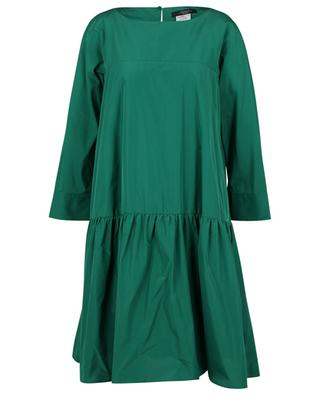 Ombrina short A-lined tiered flounced taffeta dress WEEKEND MAX MARA