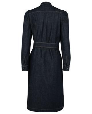 Robe chemise droite en denim brut Brama WEEKEND MAX MARA