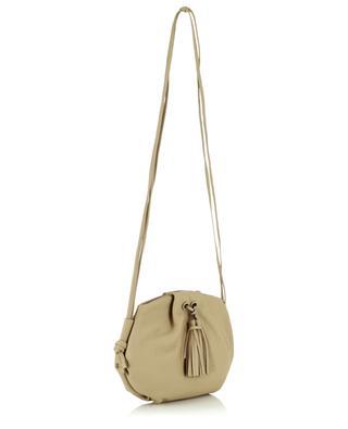 Flora grained leather shoulder bag GIANNI CHIARINI