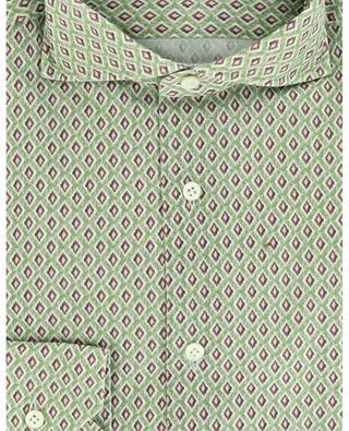Chemise en coton imprimée Ikat GIAMPAOLO