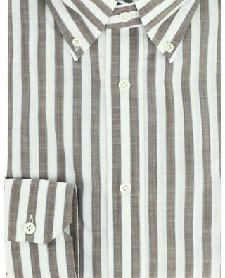 Lightweight striped cotton shirt GIAMPAOLO
