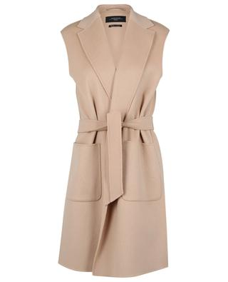 Gilet long en laine double-face Educata WEEKEND MAX MARA