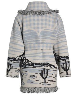 Ride Your Dreams oversize cashmere jacquard cardigan ALANUI