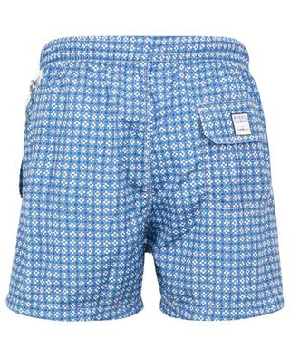 Madeira Airstop swim shorts with dots and flower print FEDELI