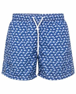 Madeira Airstop swim shorts with wale print FEDELI