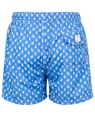 Madeira Airstop swim shorts with dog print FEDELI