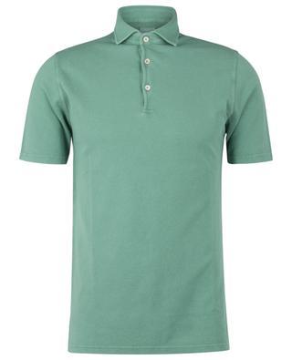 Tommy cotton piqué short-sleeved polo shirt FEDELI