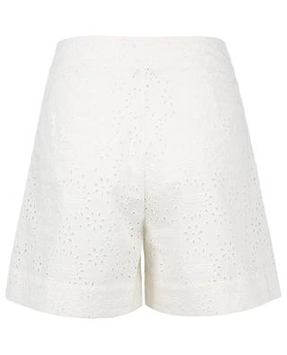Collector openwork embroidered cotton shorts ERES