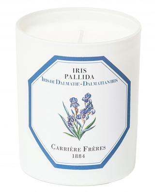 Bougie parfumée Iris Pallida - 185 g CARRIERE FRERES