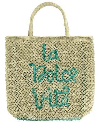 La Dolce Vita Large jute tote bag THE JACKSONS