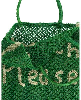 Beach Please Large jute tote bag THE JACKSONS
