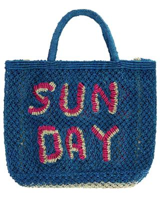 Sun Day Small jute tote bag THE JACKSONS