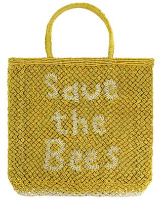 Save The Bees Large jute tote bag THE JACKSONS