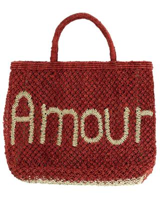 Sac cabas en jute Amour Small THE JACKSONS