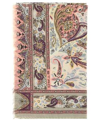 Leichter Schal aus Kaschmir und Seide Delhy ETRO
