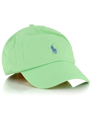 Pony embroidered gabardine baseball cap POLO RALPH LAUREN
