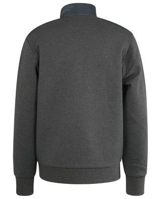 Sweatshirt mit Zip und gesteppten Hahnentritteinsätzen Pony POLO RALPH LAUREN