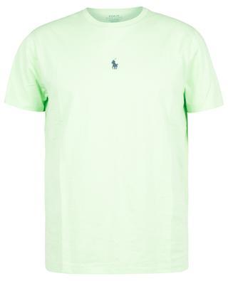 T-Shirt aus Jersey mit mittiger Pony-Stickerei Custom Slim Fit POLO RALPH LAUREN