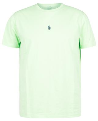Custom Slim Fit jersey T-shirt with centred Pony embroidery POLO RALPH LAUREN