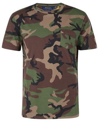T-shirt imprimé camouflage Custom Slim Fit Pony POLO RALPH LAUREN