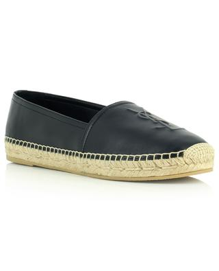 Espadrilles en cuir nappa Monogram SAINT LAURENT PARIS