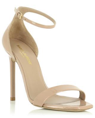 Sandalen aus Lackleder mit Absatz Amber 105 SAINT LAURENT PARIS