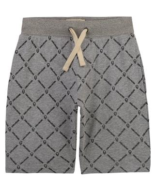Skull printed boys' sweat shorts ZADIG & VOLTAIRE