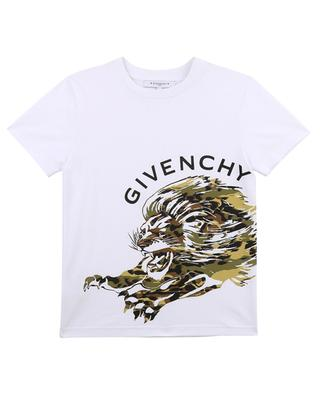 A-line T-shirt with nylon and grosgrain ribbon GIVENCHY